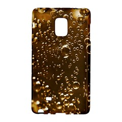 Festive Bubbles Sparkling Wine Champagne Golden Water Drops Galaxy Note Edge by yoursparklingshop