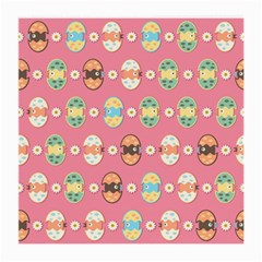 Cute Eggs Pattern Medium Glasses Cloth by linceazul