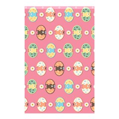 Cute Eggs Pattern Shower Curtain 48  X 72  (small)  by linceazul