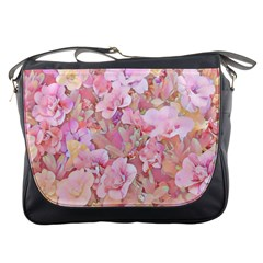 Lovely Floral 36a Messenger Bags by MoreColorsinLife