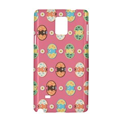 Cute Eggs Pattern Samsung Galaxy Note 4 Hardshell Case by linceazul