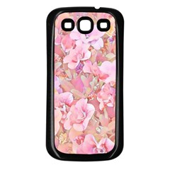 Lovely Floral 36a Samsung Galaxy S3 Back Case (black) by MoreColorsinLife