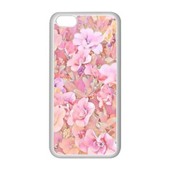 Lovely Floral 36a Apple Iphone 5c Seamless Case (white) by MoreColorsinLife