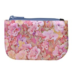 Lovely Floral 36a Large Coin Purse by MoreColorsinLife