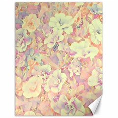 Lovely Floral 36b Canvas 18  X 24   by MoreColorsinLife