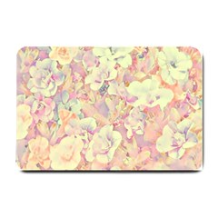 Lovely Floral 36b Small Doormat  by MoreColorsinLife