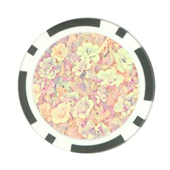 Lovely Floral 36b Poker Chip Card Guard (10 Pack) by MoreColorsinLife