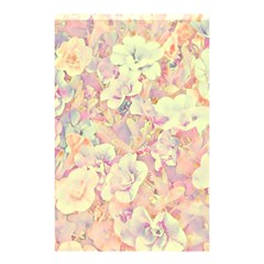 Lovely Floral 36b Shower Curtain 48  X 72  (small)  by MoreColorsinLife