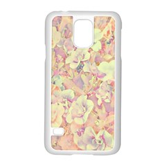 Lovely Floral 36b Samsung Galaxy S5 Case (white) by MoreColorsinLife