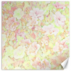 Lovely Floral 36c Canvas 12  X 12   by MoreColorsinLife