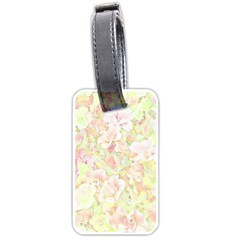 Lovely Floral 36c Luggage Tags (one Side)  by MoreColorsinLife