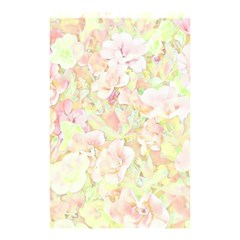 Lovely Floral 36c Shower Curtain 48  X 72  (small)  by MoreColorsinLife