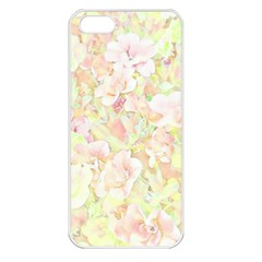 Lovely Floral 36c Apple Iphone 5 Seamless Case (white) by MoreColorsinLife