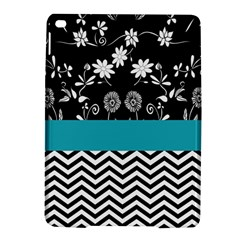 Flowers Turquoise Pattern Floral Ipad Air 2 Hardshell Cases by BangZart