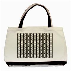 Pattern Background Texture Black Basic Tote Bag by BangZart