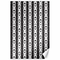 Pattern Background Texture Black Canvas 20  X 30   by BangZart