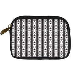 Pattern Background Texture Black Digital Camera Cases