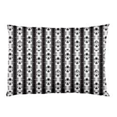 Pattern Background Texture Black Pillow Case (two Sides)