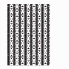 Pattern Background Texture Black Small Garden Flag (two Sides) by BangZart