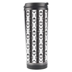 Pattern Background Texture Black Travel Tumbler by BangZart