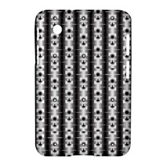 Pattern Background Texture Black Samsung Galaxy Tab 2 (7 ) P3100 Hardshell Case