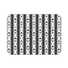 Pattern Background Texture Black Double Sided Flano Blanket (mini)