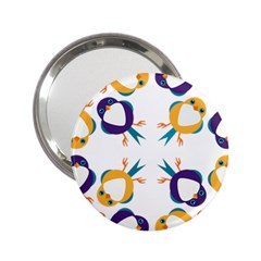 Pattern Circular Birds 2 25  Handbag Mirrors by BangZart