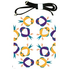 Pattern Circular Birds Shoulder Sling Bags by BangZart