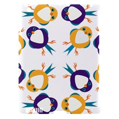 Pattern Circular Birds Apple Ipad 3/4 Hardshell Case (compatible With Smart Cover) by BangZart