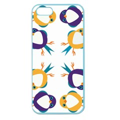 Pattern Circular Birds Apple Seamless Iphone 5 Case (color)