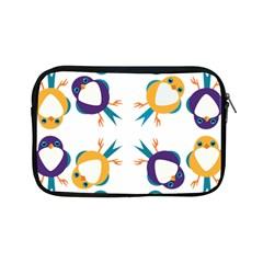 Pattern Circular Birds Apple Ipad Mini Zipper Cases by BangZart