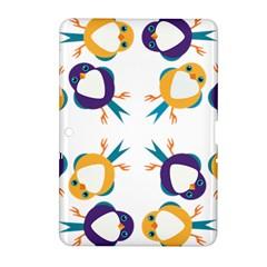 Pattern Circular Birds Samsung Galaxy Tab 2 (10 1 ) P5100 Hardshell Case  by BangZart