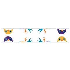 Pattern Circular Birds Flano Scarf (small) by BangZart