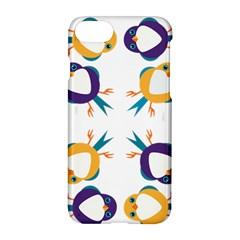 Pattern Circular Birds Apple Iphone 7 Hardshell Case by BangZart