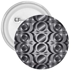 Metal Circle Background Ring 3  Buttons
