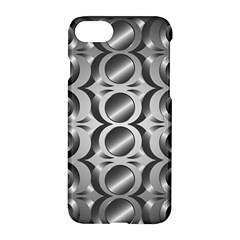 Metal Circle Background Ring Apple Iphone 7 Hardshell Case by BangZart