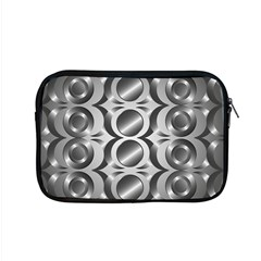 Metal Circle Background Ring Apple Macbook Pro 15  Zipper Case by BangZart
