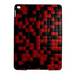 Black Red Tiles Checkerboard Ipad Air 2 Hardshell Cases by BangZart