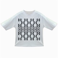 Pattern Background Texture Black Infant/toddler T Shirts