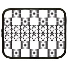Pattern Background Texture Black Netbook Case (large) by BangZart