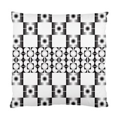 Pattern Background Texture Black Standard Cushion Case (two Sides) by BangZart