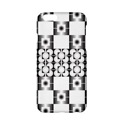 Pattern Background Texture Black Apple Iphone 6/6s Hardshell Case by BangZart