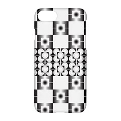 Pattern Background Texture Black Apple Iphone 7 Hardshell Case by BangZart