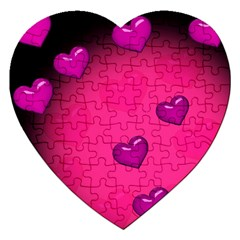 Background Heart Valentine S Day Jigsaw Puzzle (heart)