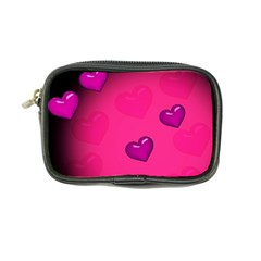 Background Heart Valentine S Day Coin Purse