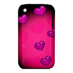 Background Heart Valentine S Day Iphone 3s/3gs by BangZart
