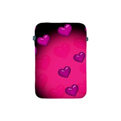 Background Heart Valentine S Day Apple Ipad Mini Protective Soft Cases by BangZart