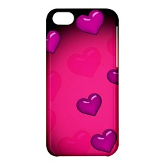 Background Heart Valentine S Day Apple Iphone 5c Hardshell Case by BangZart
