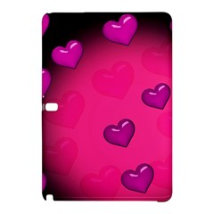 Background Heart Valentine S Day Samsung Galaxy Tab Pro 10 1 Hardshell Case