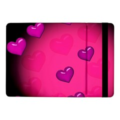 Background Heart Valentine S Day Samsung Galaxy Tab Pro 10 1  Flip Case by BangZart